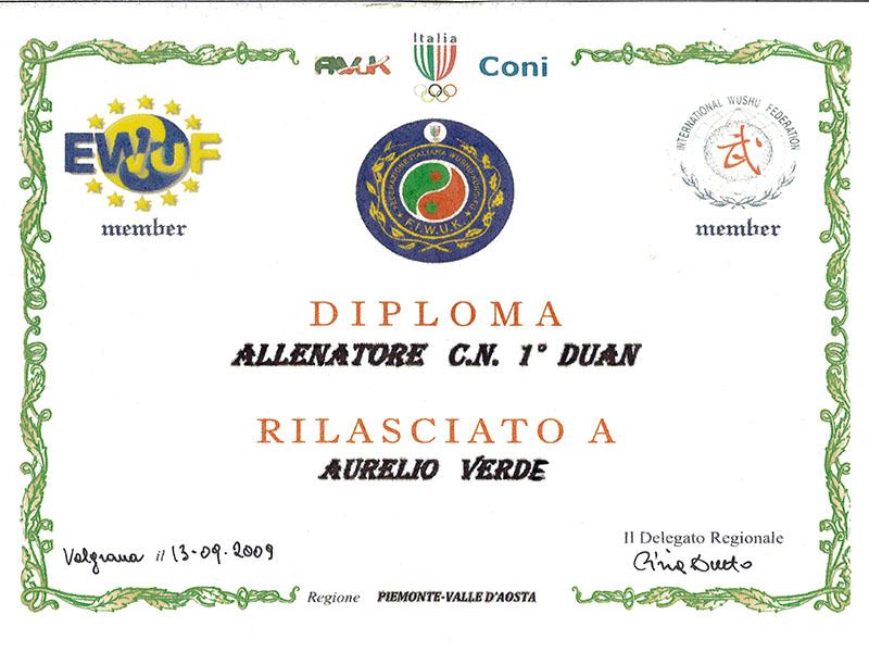 Diploma 1° Duan Fiwuk