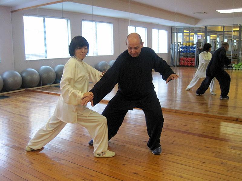 Tecnica di Tui Sho con Maestra Kinue