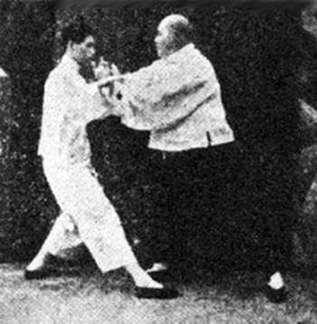 Yang Chen Fu in Tui Shou