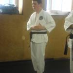 Luca inzia il kata Wanshu.