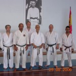Da sx: M° Fukazawa, M° Verde, M° Beysen, Prof. Suzuki,  M°  Massee, C.Bianco.