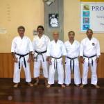 M°Ravera, M° Mutascio, Prof. Suzuki, M° Fukazawa, M° Verde