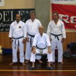 Da sx: M° Verde, M° Ravera, Prof. Suzuki, G. Benzi.