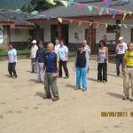 Verso Shanri-la. Pratica di Tai Chi  con la guida del M° F.Ronco.