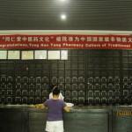 Tipica (e lussuosa) farmacia con prodotti della Medicina Tradizionale Cinese.
