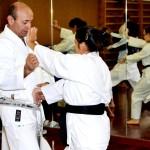 Spiegazione di una tecnica del kata Niseishi.