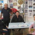 Carla Bianconi (veterana di Tai Chi con SU HA RI KAN), Aurelio VERDE, Marco OTTONELLO, Ornella NOVELLI.