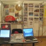 Bacheca del C.D.O. SU HA RI KAN  presso il Centro Civ. Buranello Genova  in occasione dell' Expo delle Associazioni.