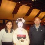 Kyoto. Ristorante con Geisha.