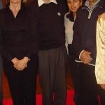 Da sx: Laura, M° Kobayashi, Michela, Aurelio.