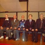 Da sx: M° Kobayashi, M° Furukawa, Prof. Suzuki, M° Takashima, M° Goto.