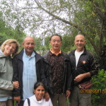 - Lijiang  - Cina Agosto 2011.  Laura, Aurelio, Michela, M° Hao Haimu  e M° Fausto Ronco