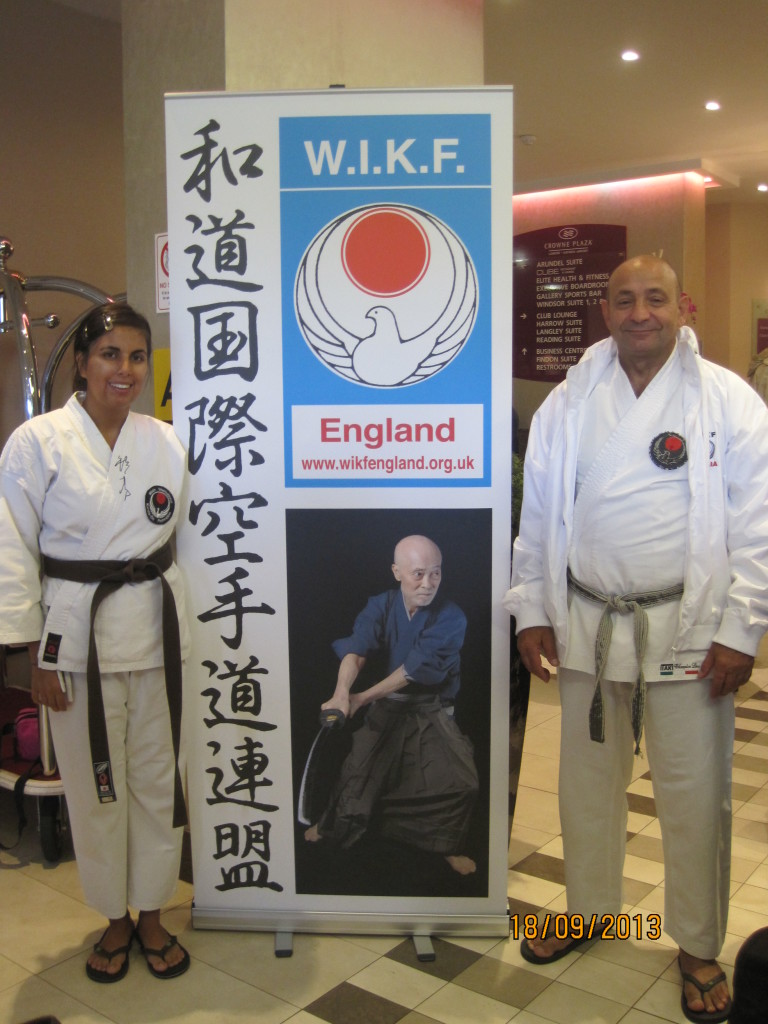 Michela e Aurelio al 7° Campionato Mondiale  Wikf di Londra.