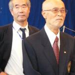M° Fukazawa e Prof. Suzuki.