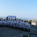 Il bel gruppo della Soc. Yamakai di Verona del M° Paolo CARPENE (6° dan)  che ogni  partecipa sempre con entusiasmo all' annuale Stage Nazionale Wado Ryu di Genova.