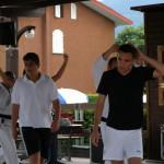 Andrea e Alessio  sembrano perplessi....