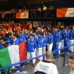 Parigi - Camp.Europei 2007 - L'Italia alla cerimonia di apertura