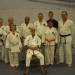 Startford Upon Avon - Luglio 2007 - Summer course . Da sx. Alison, M° Fukazawa, Emma, Aurelio, Prof. Suzuki, Simon,Matthew,Michela, Roy.