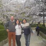 Kyoto. Aurelio, Eleni e Michela