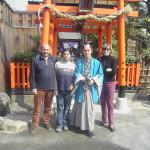 Kyoto. Il posto è una sorta di Cinecittà. Tutti i personaggi  in costume sono autenticamente...falsi.