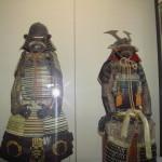 Armature di samurai   nel museo interno di Himeji castle.