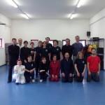 Gruppo partecipanti allo stage  di Taiji Quan  del 13.4.13 al PALACUS Genova