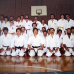 1976 Sanremo - La Sakura Accademia Karate Wado Ryu Genova  allo stage col M° Toyama, M° Tomita, M° De Gaetani