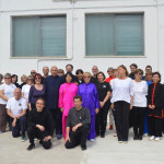 Gruppo di partecipanti al Taiji Quan and Qi Gong World Day .