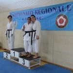 Camp. Reg. Fesik Imperia.  Simona 2° posto - Michela e Maddalena   3° posto - Kata.