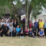 Taichi Caledonia 2018. Gruppo di allenamento con  Gillien Reid