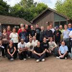 Taichi Caledonia 2018.  Gruppo  di allenamento col M° Masich.