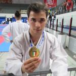 Oro per Diego nei Kata  al Camp. Naz. Fesik di Rimini.