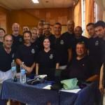 2° incontro dell' Accademia Nazionale Karate (A.N.I.Ka)  a Vigevano, ospiti del M° M. Scutaro.  Docenti il prof. De Michelis   e la M° Ferluga.