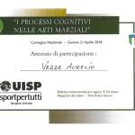 Attestato UISP