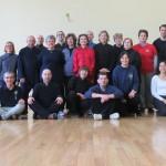 Gruppo partecipanti al 3° seminario di Taiji Quan a Genova.