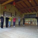 Seminario di  Qi Gong e Tui Sho  diretto dal M° Enrico Colmi  presso la palestra della sua abitazione  a Bottonasco di Valgrana.