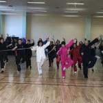 2° Seminario  annuale di Taiji Quan con La Maestra Kinue OHASHI.   Forma 32 Spada Taiji Quan Yang.