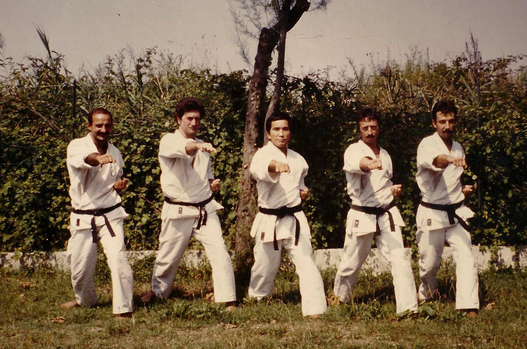 Caorle-1980---A.Verde.-M.Ravera,-M-Y.TOYAMA,-R.Parodi,-G